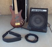 Spector Bass w/ Amp in Yucca Valley, California