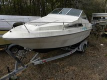 SEA  RAY   21 foot  1988  Model  Cabin  Cruiser with trailer in Camp Lejeune, North Carolina