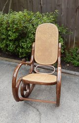 Bentwood Cane Rocker - Vintage in Kingwood, Texas