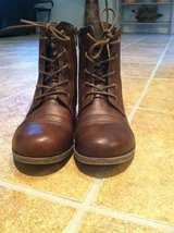 Combat boots in Vacaville, California