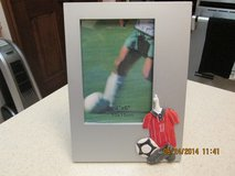 Soccer-Themed Frame - New in Houston, Texas