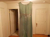 MINT GREEN GIRL'S DRESS SZ 10 1/2 in Clarksville, Tennessee