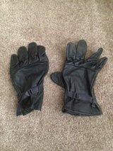 Military Black Leather Gloves Men and Womens Size 5 in Nellis AFB, Nevada