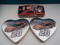 3  #20 Tony Stewart Tins in Fort Campbell, Kentucky