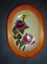 Decor Roses Flowers Hanging Plate in El Paso, Texas