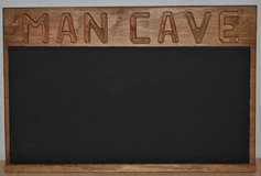 Man Cave Chalk Board in Lockport, Illinois