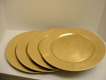 Plate Chargers / Silver and Gold Sets Available in Chicago, Illinois