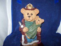100 Anniversary of Teddy Bear, Fireman Bear in Fort Carson, Colorado