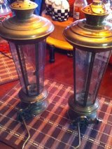 Brass Lantern Set in Clarksville, Tennessee