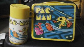 VINTAGE 1980 PACMAN LUNCHBOX W/ THERMOS in Travis AFB, California