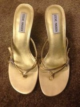 Steve Madden Gold Soes Size 7 in Nellis AFB, Nevada