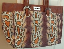 CLEARANCE Comsi Comsa Faux Snake Skin Tote Purse Handbag in Sugar Grove, Illinois