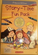 new american girl doll story time fun pack book hopscotch hill school retired in Glendale Heights, Illinois