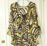 Animal Print Tunic with Attached Tank in Kingwood, Texas
