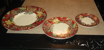 13 Piece F. Gioria Plate Set form Italy / New in Schaumburg, Illinois