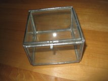 Antique Glass Jewelry Box in Chicago, Illinois