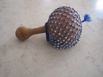 Native American Ceremonial Gourd Rattle in Chicago, Illinois