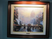 1994 Thomas Kinkade signed and numbered canvas lithograph in Chicago, Illinois