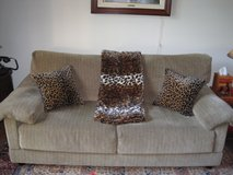Love Seat Custom Italian Made with Donghia Fabric upholstery in Schaumburg, Illinois