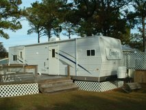2 Camper Lots for Rent at Two Buoys RV Park in Camp Lejeune, North Carolina