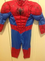 Spider-Man costume with mask and gloves in Okinawa, Japan