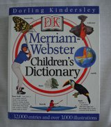 DK Merriam-Webster Children's Dictionary (2000, Hardcover) in Bolingbrook, Illinois