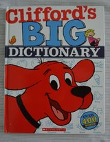 Clifford's BIG Dictionary Over 400 Words! Scholastic Picture Hardcover 2010 in New Lenox, Illinois