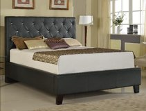 NEW Queen Upholstered Platform Bed in Beaufort, South Carolina