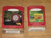 Hallmark HotWheels X-mas Ornament Sets in Miramar, California