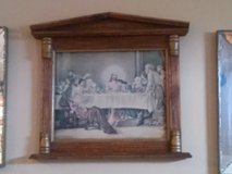 religious painting in wood frame in Oceanside, California