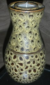 Discontinued Partylite Leopard Brown Candle Holder in Kingwood, Texas