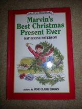 Marvin's Best Christmas Present Ever book in Camp Lejeune, North Carolina