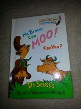 Dr. Seuss's -  Mr. Brown Can Moo! Can You? book in Camp Lejeune, North Carolina