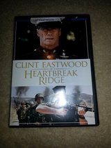 Heartbreak Ridge dvd in Camp Lejeune, North Carolina