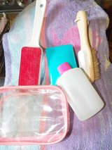 Assorted Travel Beauty Items in Spring, Texas
