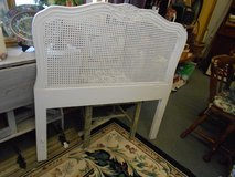 white  twin size  shabby chic french headboard in Naperville, Illinois