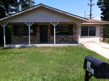 3 Bed -1 1/2 Bath for rent, Pets Welcomed in Leesville, Louisiana