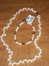 Pearl Necklace and Pearl Bracelet in Fort Campbell, Kentucky