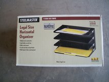 Desk Organizer Legal Size Steel File Organizer in Alamogordo, New Mexico