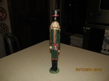 Skinny Nutcracker Figure 10 Inches Tall - Made Of Resin - Great Detail in Houston, Texas