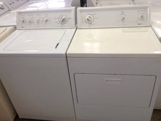 kenmore washer and dryer. kenmore washer dryer set heavy duty large capacity 30 day warranty - $299 (alexandria) kenmore washer and dryer