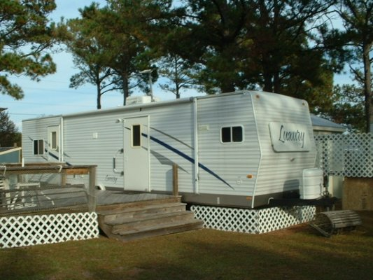 2 Camper Lots for Rent at Two Buoys RV Park in REmilitary